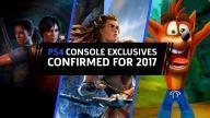 PS4 Console Exclusives voor 2017
