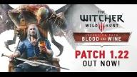 Witcher 3 Patch Notes 1.22 Update