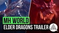 Monster Hunter: World trailer introducerar äldste Dragons