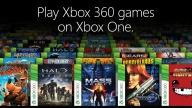 Xbox One Backwards Compatibility Games screen 1