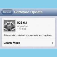 Apple releases iOS 6.1 screen 2