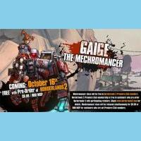 Borderlands 2: Mechromancer Available from Oct 09th