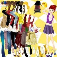 Herbst-Saison-Dress Up