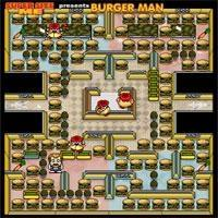 Burger Man Super Size Me