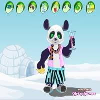 Cute Panda-Dress Up