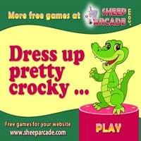 Dress up pretty crocky