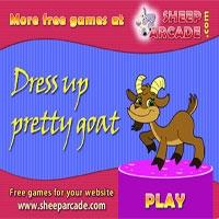 Dress up pretty goat