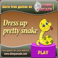 Dress up pretty snake