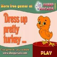 Dress up pretty turkey