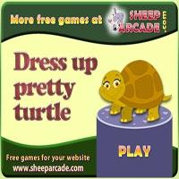 Dress up pretty turtle
