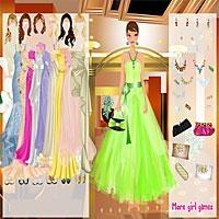 Elegant Evening Reception Dress Up