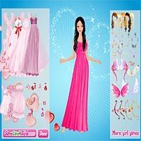 Graceful Valentine-Angel-Dress Up