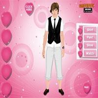 Josh Hutcherson Dress Up