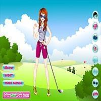 Lively Golf Girl