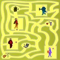 Maze Game Play 10
