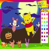 Piglet and Pooh on Halloween