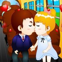 School Bus Kiss