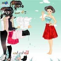 Skirt and Blouse Dress Up